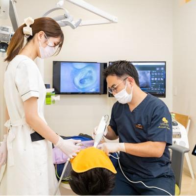 歯科矯正治療風景